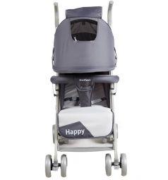 Коляска-трость Indigo Happy, цвет: серый