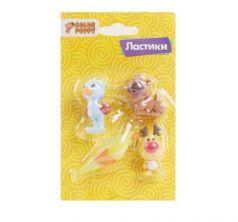 Ластики Color Puppy Мир животных 4 шт.