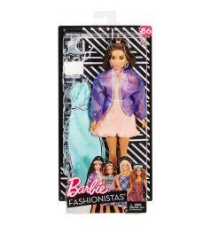 Кукла Barbie Игра с модой Шатенка в сиреневой ветровке 28 см
