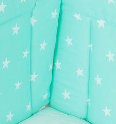 Комплект постельного белья Моей крохе, цвет: зеленый
