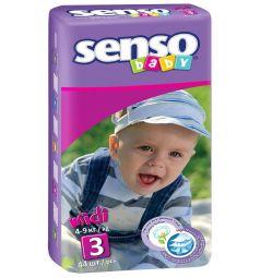Подгузники Senso Baby Midi (4-9 кг) 44 шт.