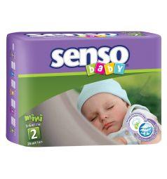 Подгузники Senso Baby Midi (3-6 кг) 26 шт.