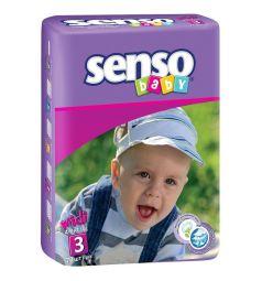 Подгузники Senso Baby (4-9 кг) 70 шт.