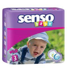 Подгузники Senso Baby Midi (4-9 кг) 22 шт.