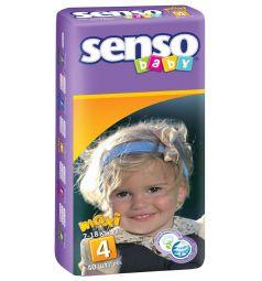 Подгузники Senso Baby Maxi (7-18 кг) 40 шт.