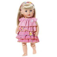 Одежда для кукол Baby Born Baby Born Платье и ободок-украшение