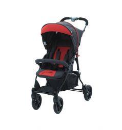 Прогулочная коляска FD-Design Treviso 4, цвет: anthracite/tango red