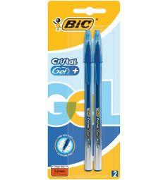 Ручка гелевая Bic Cristal Gel+