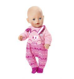 Одежда для кукол Baby Born Комбинезон розовый