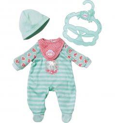 Одежда для куклы Baby Annabell My first Baby Annabell, зеленый