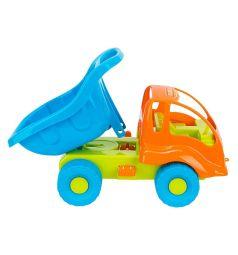Набор для песка Полесье №301 Муравей, оранжевая кабина, синий кузов