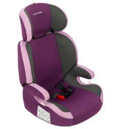 Автокресло Leader Kids Регата Fix, цвет: розовый/фиолетовый