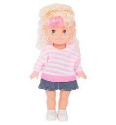 Кукла Tongde Радочка в розовой кофте и юбке 25 см