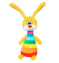 Мягкая игрушка СмолТойс Радужный зайка 51 см