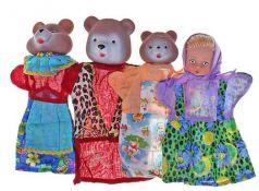 Кукольный театр Русский Стиль Три Медведя (4 персонажа)