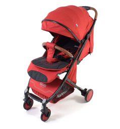 Прогулочная коляска Nuovita Giro, цвет: красный/черный