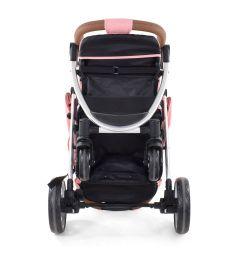 Прогулочная коляска Nuovita Corso, цвет: персиковый/серебристый
