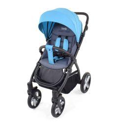 Прогулочная коляска Nuovita Modo Terreno, цвет: синий/серый
