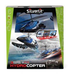 Вертолет на радиоуправлении Silverlit Гидрокоптер синий