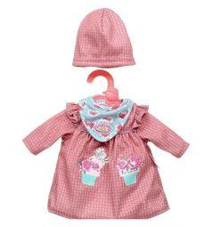Одежда для куклы Baby Annabell My First Baby розовая