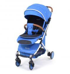 Прогулочная коляска Nuovita GiroBlu, цвет: синий/серебро