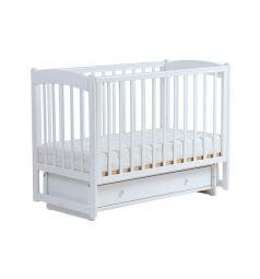 Кровать Кубаночка 3, цвет: белый
