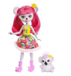 Кукла Enchantimals Карина Коала с питомцем 15 см