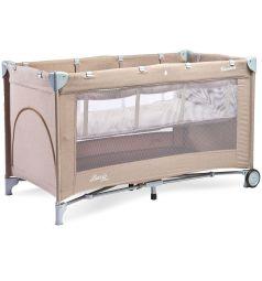Манеж-кровать Caretero Basic plus, цвет: бежевый