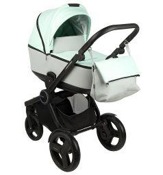 Коляска-люлька для новорожденного Bexa Poland Fresh, цвет: зеленый/серый