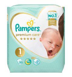 Подгузники Pampers Premium Care Pants 1 размер (2-5 кг) 20 шт.