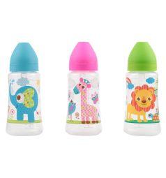 Бутылочка Ням-Ням для кормления полипропилен с 6 мес, 360 мл, цвет: голубой