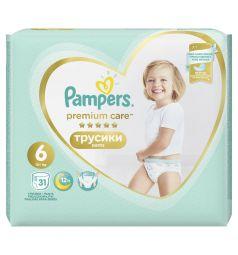 Трусики Pampers Premium Care Pants 6 размер (15- кг) 31 шт.