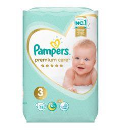 Подгузники Pampers Premium Care Pants 3 размер (6-10 кг) 18 шт.