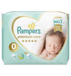 Подгузники Pampers Premium Care Pants 0 размер (1.5-2.5 кг) 30 шт.