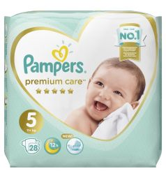 Подгузники Pampers Premium Care Pants 5 размер (11+ кг) 28 шт.