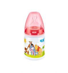 Бутылочка Nuk Classic First Choice р.1 пластик с рождения, 150 мл, цвет: красный