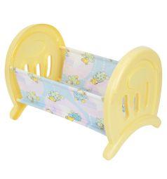 Кроватка для кукол Полесье сборная, большая желтая 54.3 х 34 х 38 см