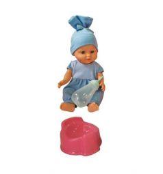 Пупс Mary Poppins Пью и писаю голубая одежда