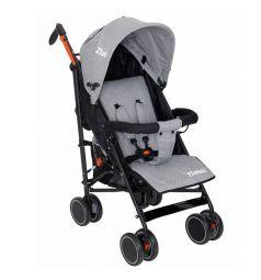 Прогулочная коляска Zlatek Discovery, цвет: серый