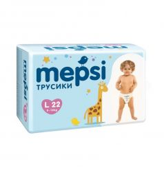 Трусики-подгузники Mepsi (9-16 кг) 22 шт.