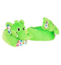 Тапочки-игрушки Forio, цвет: зеленый