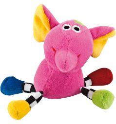 Погремушка Canpol Сумасшедшие животные цвет розовый