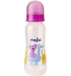 Бутылочка Mepsi противоколиковая полипропилен с рождения, 250 мл, цвет: фиолетовый