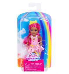 Кукла Barbie Челси с розовыми волосами