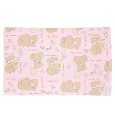 Подушка Зайка Моя 40 х 60 см, цвет: розовый