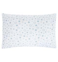 Зайка Моя Подушка Звездопад 40 х 60 см, цвет: серый