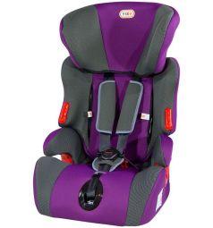 Автокресло Tizo Simple, цвет: фиолетовый/карбон