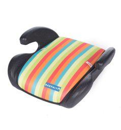 Автокресло-бустер BabyHit Boost, цвет: разноцветные полоски