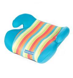 Автокресло-бустер BabyHit Boost, цвет: голубой/полоски