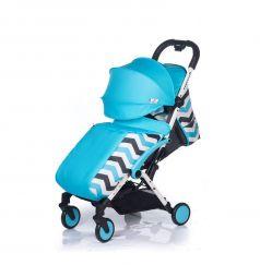 Прогулочная коляска BabyHit Amber plus, цвет: light blye